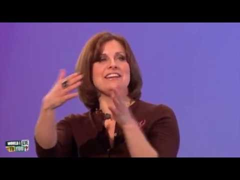 """Rebecca Front: """"I have vomited in Cliff Richard's hedge."""" - Would I Lie to You? [HD]"""