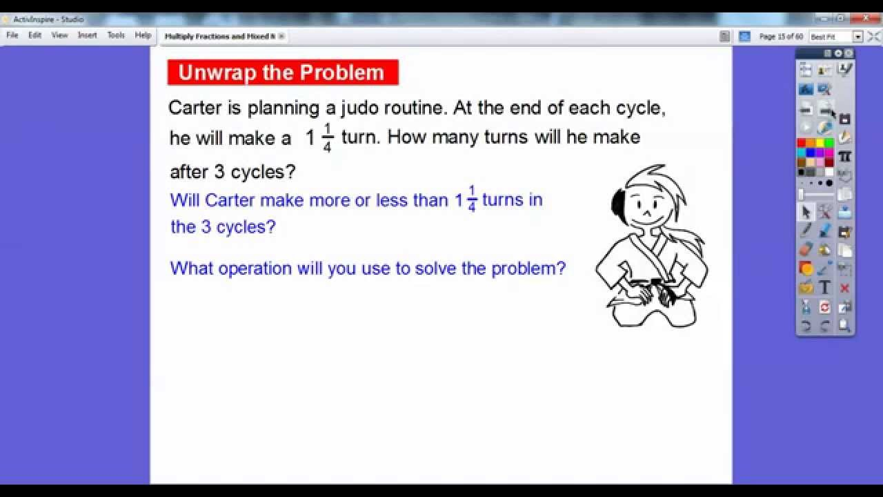 Multiply Fractions And Mixed Numbers By Whole Numbers 8 4