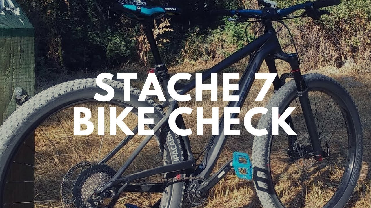 46323e67bb2 2018 Trek Stache 7 - Bike Check - YouTube