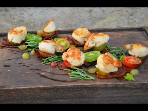 Scoici Saint Jacques  - Scallops & crispy bacon