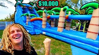 I Bought A $10,000 Slide (BANNED FOR LIFE)