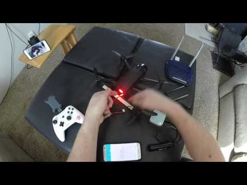 Parrot Bebop 2 Light Mod Battery Swap Range Extender