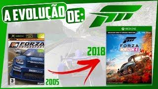 IMPRESSIONANTE! A EVOLUÇÃO DE FORZA MOTORSPORT e HORIZON de 2005 à 2018! NÃO PERCA!