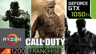 Call Of Duty Modern Warfare Franchise - GTX 1050 ti - Ryzen 3 1200 - MW1 - MW2 - MW3 - MW Remastered