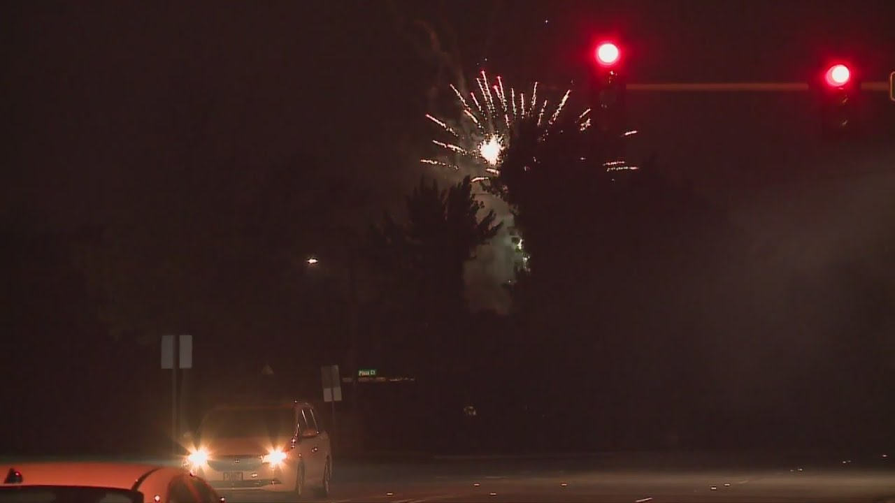 Download Fireworks complaint calls up 700% compared to last year, city says