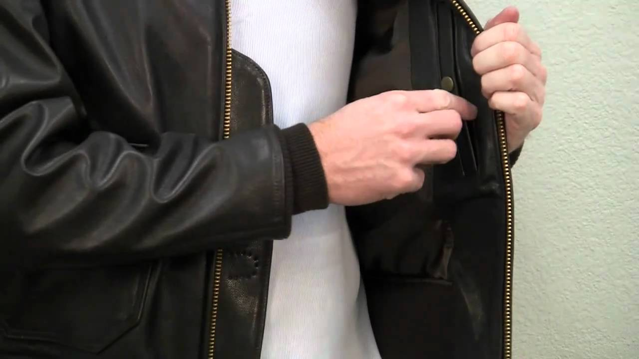 f2159209891 US Navy Issue Mil Spec Type G-1 Jacket - YouTube