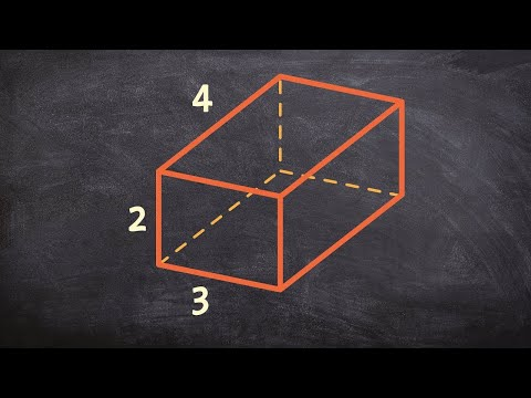Finding The Volume And Surface Area Of A Rectangular Prism