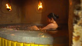Download Girl Build Underground Bathtub Mini Pool for Underground Shelter Villa