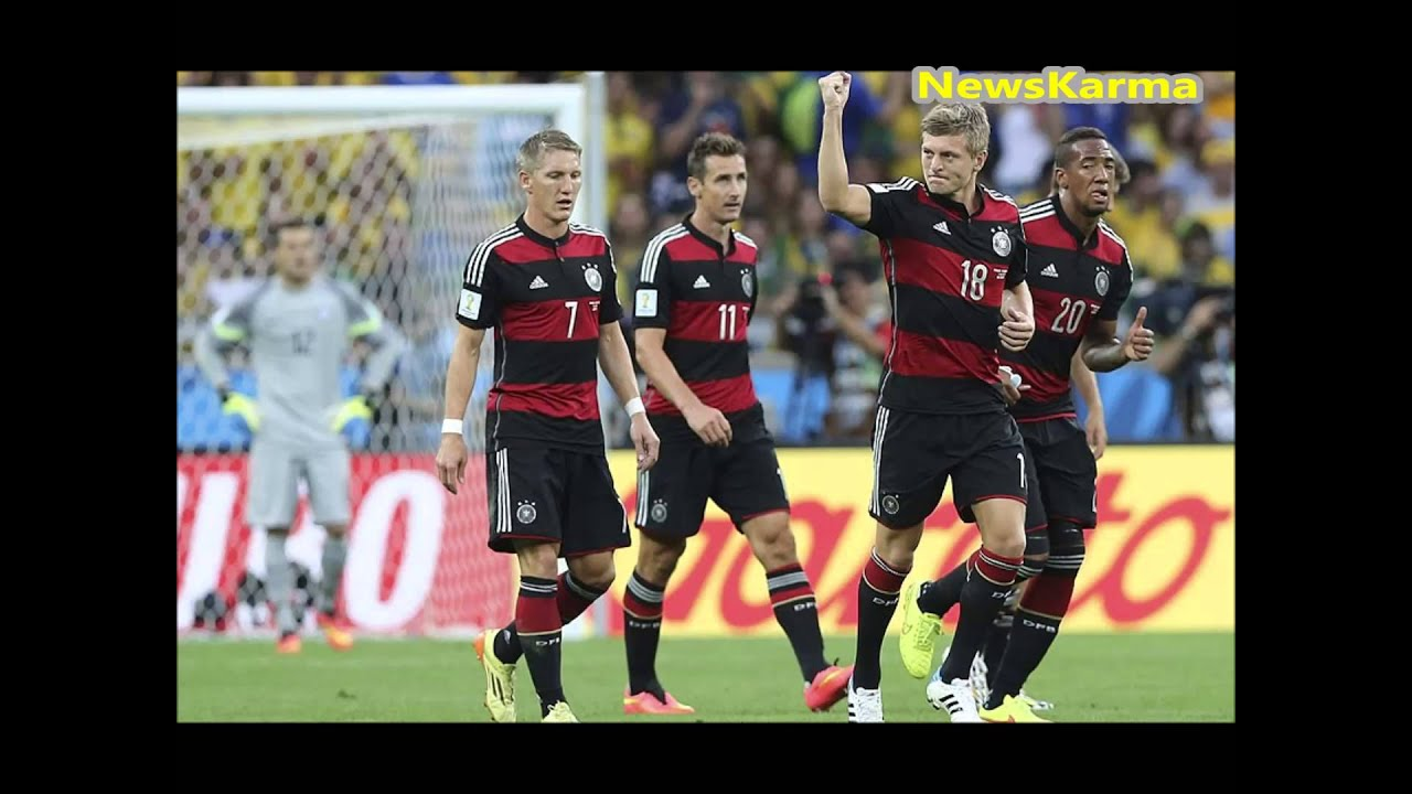 brazil vs germany 1 7 2014 world cup full match goals highlights