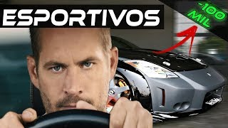 CARROS ESPORTIVOS POR MENOS DE 100 MIL!  com +200cv!