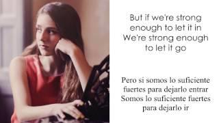 Birdy + Rhodes - Let It All Go (Letra en inglés y español)