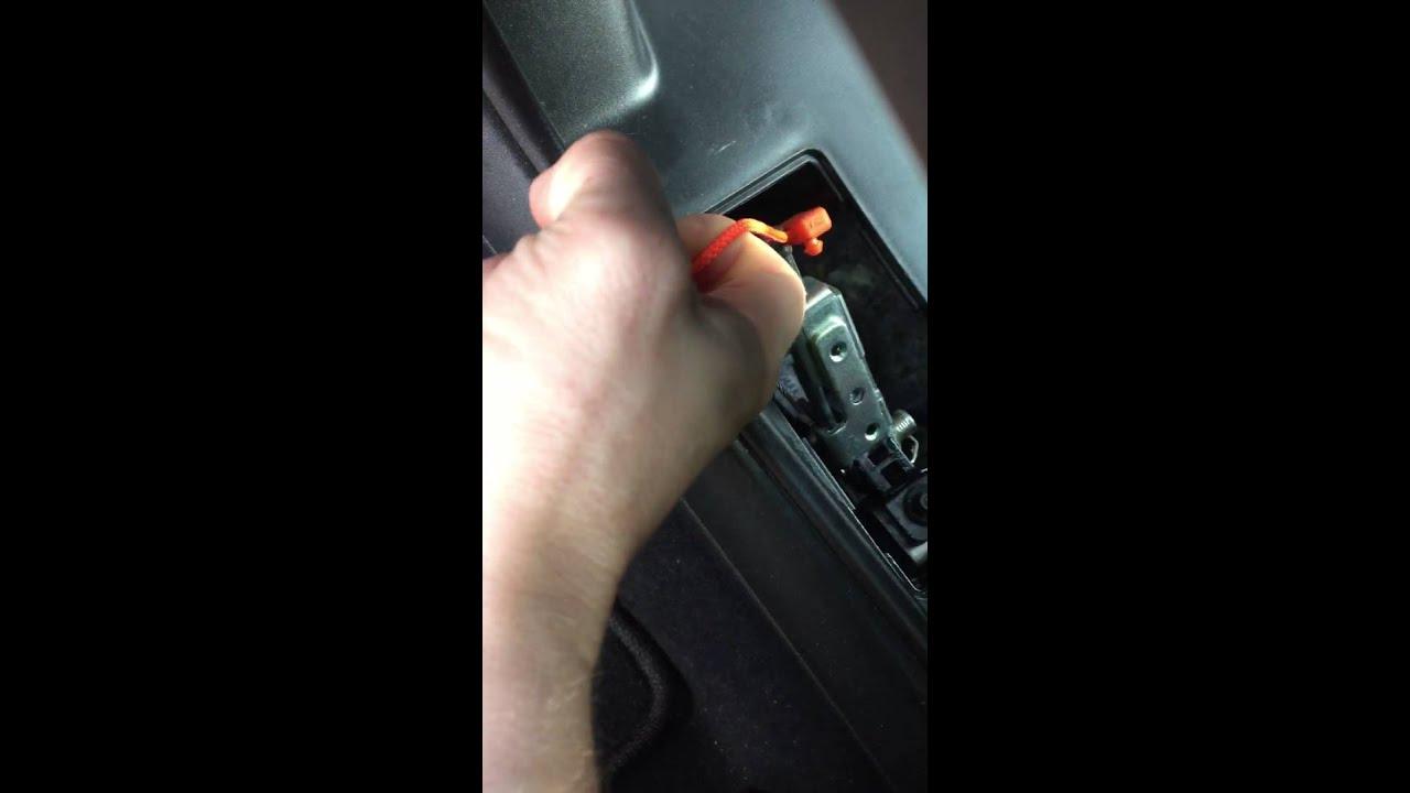 2015 Chrysler 200 Shift Lock Over Ride Youtube