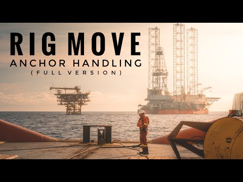 Rig Move || Anchor Handling onboard Executive Honour (Full Version)