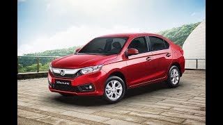 2018 Honda Amaze Car Bookings Underway likely Launch In May 2018