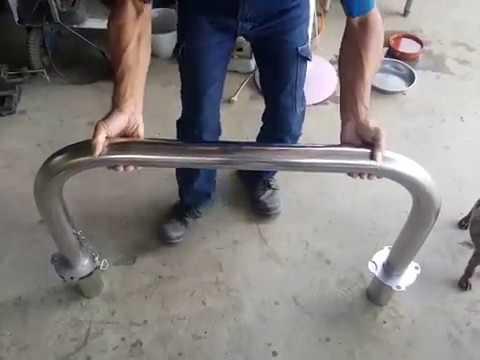 ㄇ100型-A款-不銹鋼快拆車阻