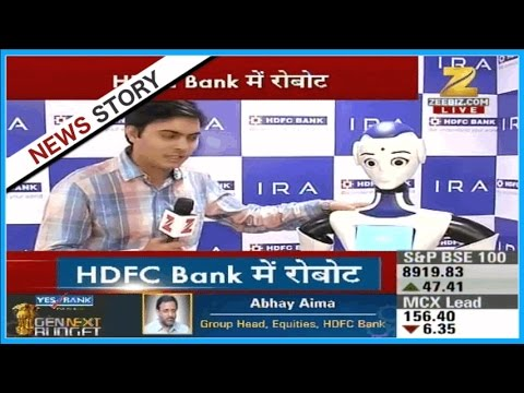 HDFC Bank begins installing robots in its branches for customer care services