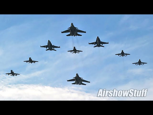 Spectacular Military Air Power at LIMA 2017