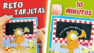 5 DIY RETO TARJETAS EN 10 MINUTOS - EPISODIO 1: TARJETA PIZARRA | Manualidades aPasos