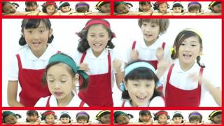 大阪京橋にあるキャレスボーカル&ダンススクールから結成! 全員小学生...