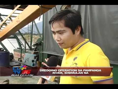 Dredging operation sa Pampanga River, sinimulan na!