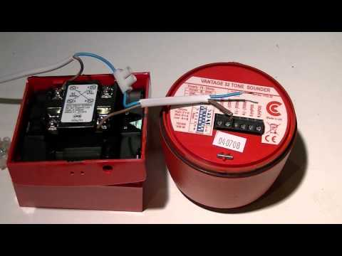 Wire a fire call point and fire sounder without a fire panel (using Wiring Diagram For Fire Alarm Sounder on