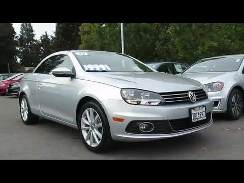 2013 Volkswagen Eos Komfort Convertible San Jose  Sunnyvale  Hayward  Redwood City  Cupertino
