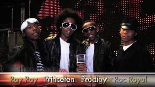 """Check out the new boy band, """"Mindless Behavior"""" on the set of their first video """"My Girl""""!"""