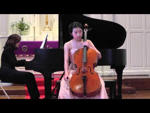 A. Dvorak Cello Concerto in B minor, 1st Mvt. Sydney Lee, cello.