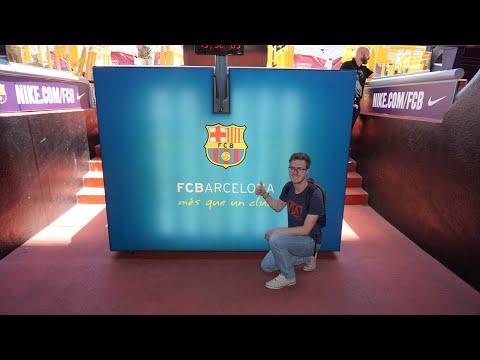 Barcelona - Camp Nou Stadium Tour | John Kilpatrick