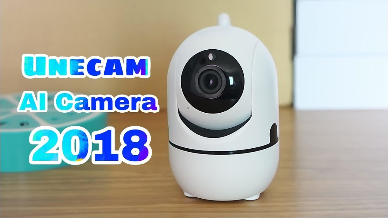 Unecam 2018 Motion auto tracking cloud AI wifi home security ip camera  YCC365 app