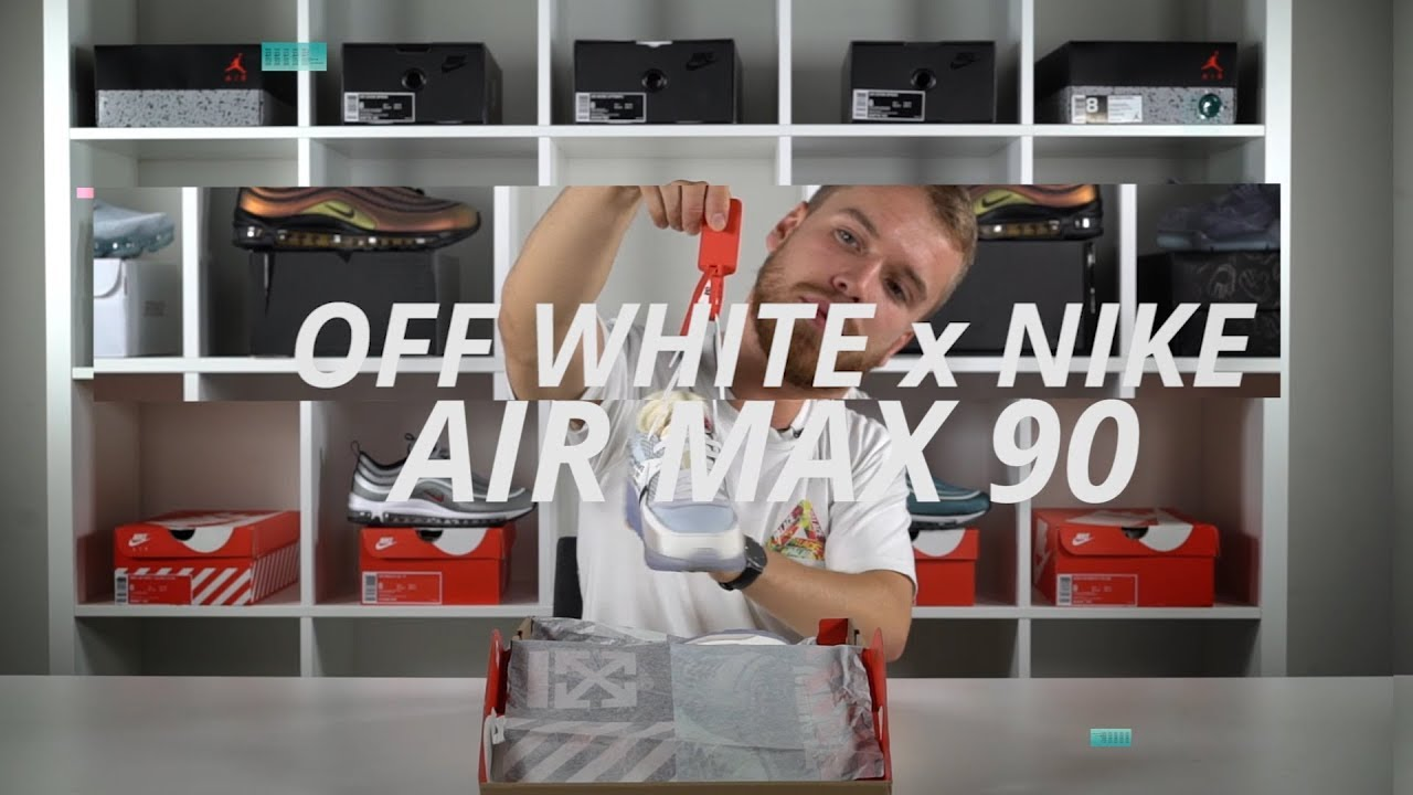 db879cf7f536 Off White Nike Air Max 90 Review Virgil Abloh The Ten - YouTube