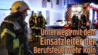Berufsfeuerwehr Köln - Unterwegs mit dem Einsatzleiter: BVA Christian Heinisch