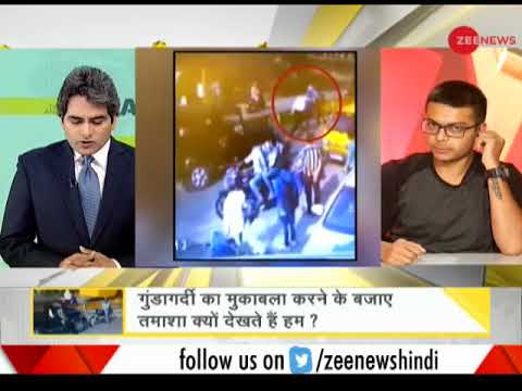 DNA: This 22-year-old brave boy stood up against hooliganism on road