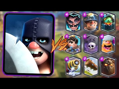 Executioner vs All Cards in Clash Royale | Executioner 1 on 1 Gameplay