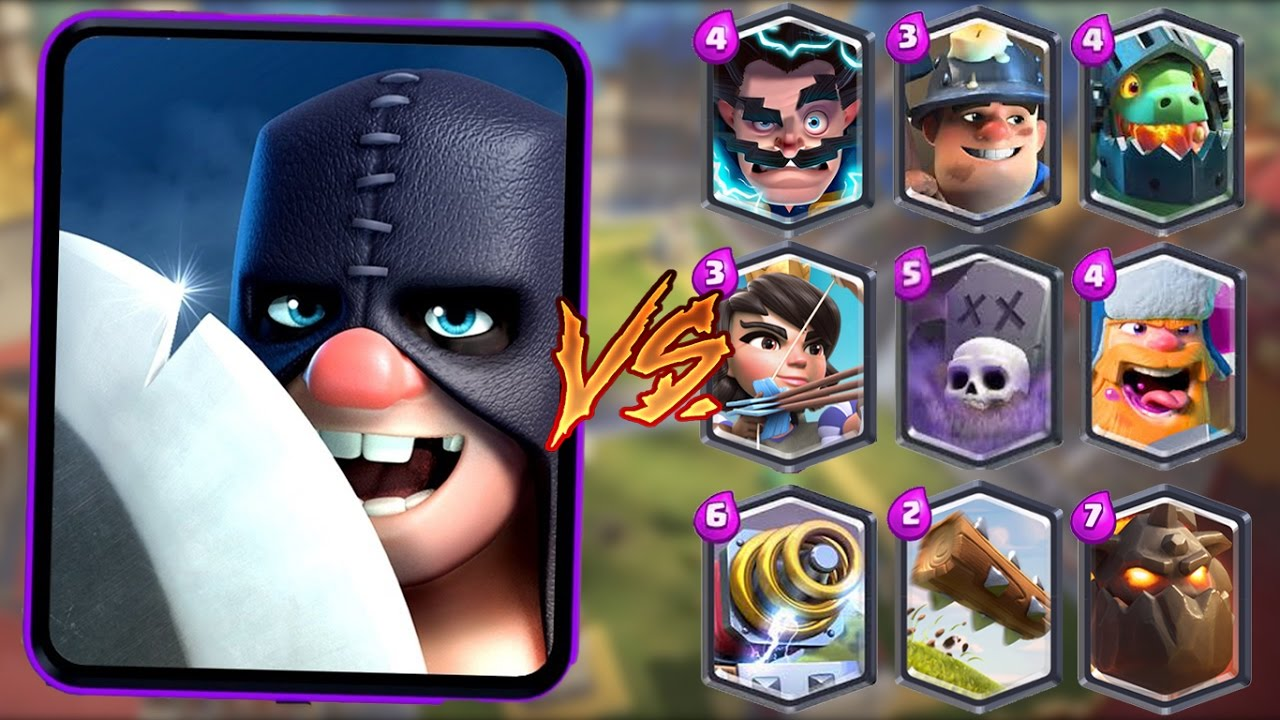 Executioner Vs All Cards In Clash Royale Executioner 1 On 1 Gameplay