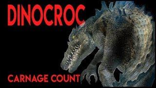 Dinocroc (2004) Carnage Count
