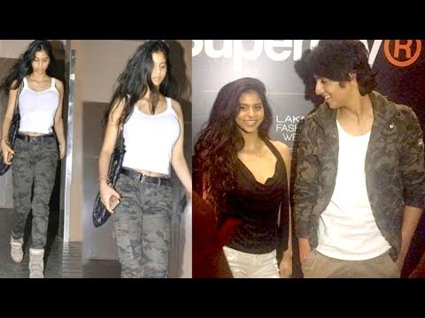 Shahrukh's Daughter Suhana CAUGHT With Chunky Panday's Nephew Ahaan Panday In Public