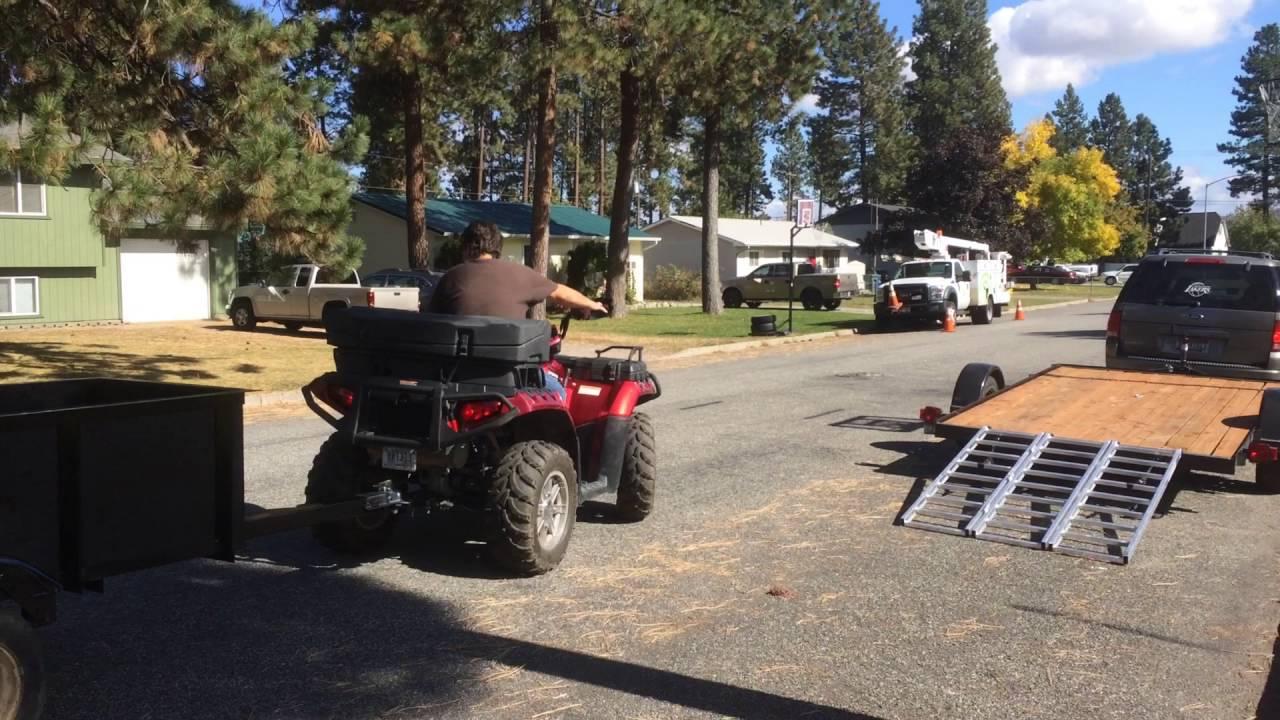 atv small pull behind utility trailer custom built sept 2016 youtube ATV Pull Behind Utility Sprayers atv small pull behind utility trailer custom built sept 2016