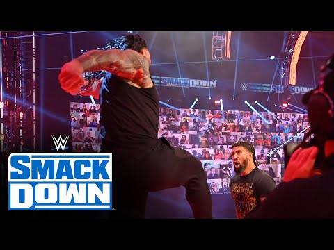 Roman Reigns delivers Superman Punch to Jey Uso before title showdown: SmackDown, Sept. 25, 2020