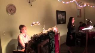 "Hailey Sieber ""O Holy Night"" Advent Celebration Dec. 6th, 2013 Pardeeville UMC"