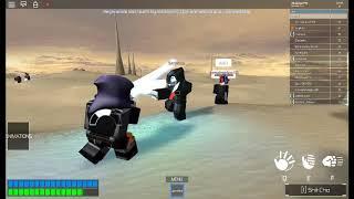 Roblox: Star Wars Lightsaber Battles: II +Dueling Serphos Extra!
