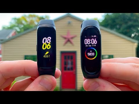 Samsung Galaxy Fit Vs  Xiaomi Mi Band 4