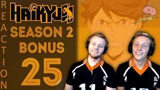 SOS Bros React - Haikyuu Season 2 Episode 25 BONUS Scenes - Aoba Johsai FEELS!!