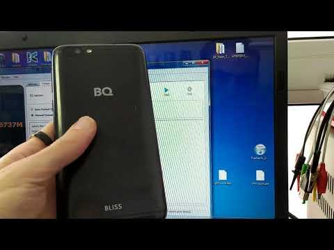 BQ Bliss 5541L. Сброс Google аккаунта. FRP BYPASS.