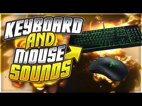 Hand Cam - Keyboard & Mouse Sounds v2 (Jitter Clicking)