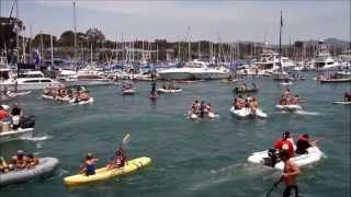 "July 4, 2013                                             Dana Point Harbor ""WATER WARS"""