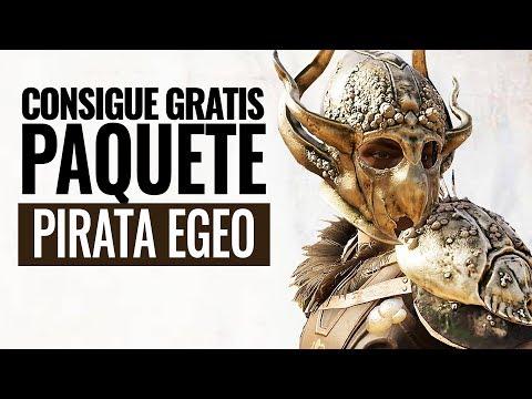 Assassin's Creed Odyssey | Consigue GRATIS EL PAQUETE PIRATA EGEO TWITCH  (ARMADURA, CABALLO y más) thumbnail