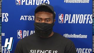 Jaylen Brown Postgame Interview - Game 4 | Raptors vs Celtics | September 5, 2020 NBA Playoffs