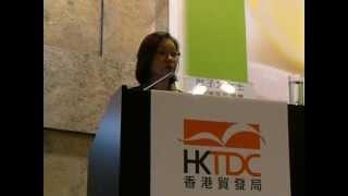 2012年8月香港茶展講座—茶料理Part 2 講者:香港茶藝中心廖子芳女士.