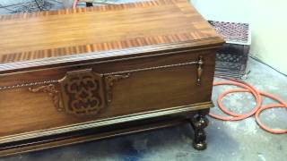 Refinishing A Walnut Ceder Chest  Timeless Arts Refinishing